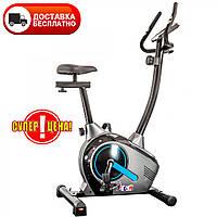 🔥 Велотренажер для дома магнитный USA Style Evertop EFIT 380B blue синий