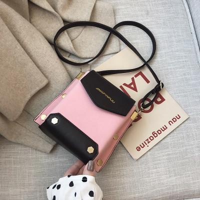 Женская розовая сумка JINGPINPIJU