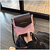 Женская розовая сумка JINGPINPIJU, фото 3
