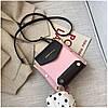 Женская розовая сумка JINGPINPIJU, фото 4