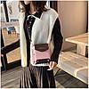 Женская розовая сумка JINGPINPIJU, фото 5