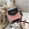 Женская розовая сумка JINGPINPIJU, фото 6