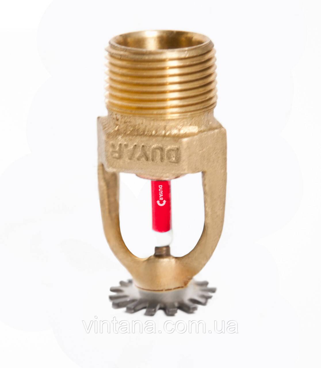 Спринклер пожарный, Duyar (Турция), розеткой вниз, 57, 68, 79°C, стандартного срабатывания, латунь.