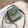 Женская зеленая сумка JINGPINPIJU, фото 5
