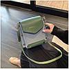 Женская зеленая сумка JINGPINPIJU, фото 4