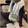 Женская зеленая сумка JINGPINPIJU, фото 7