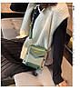 Женская зеленая сумка JINGPINPIJU, фото 8