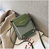 Женская зеленая сумка JINGPINPIJU, фото 6