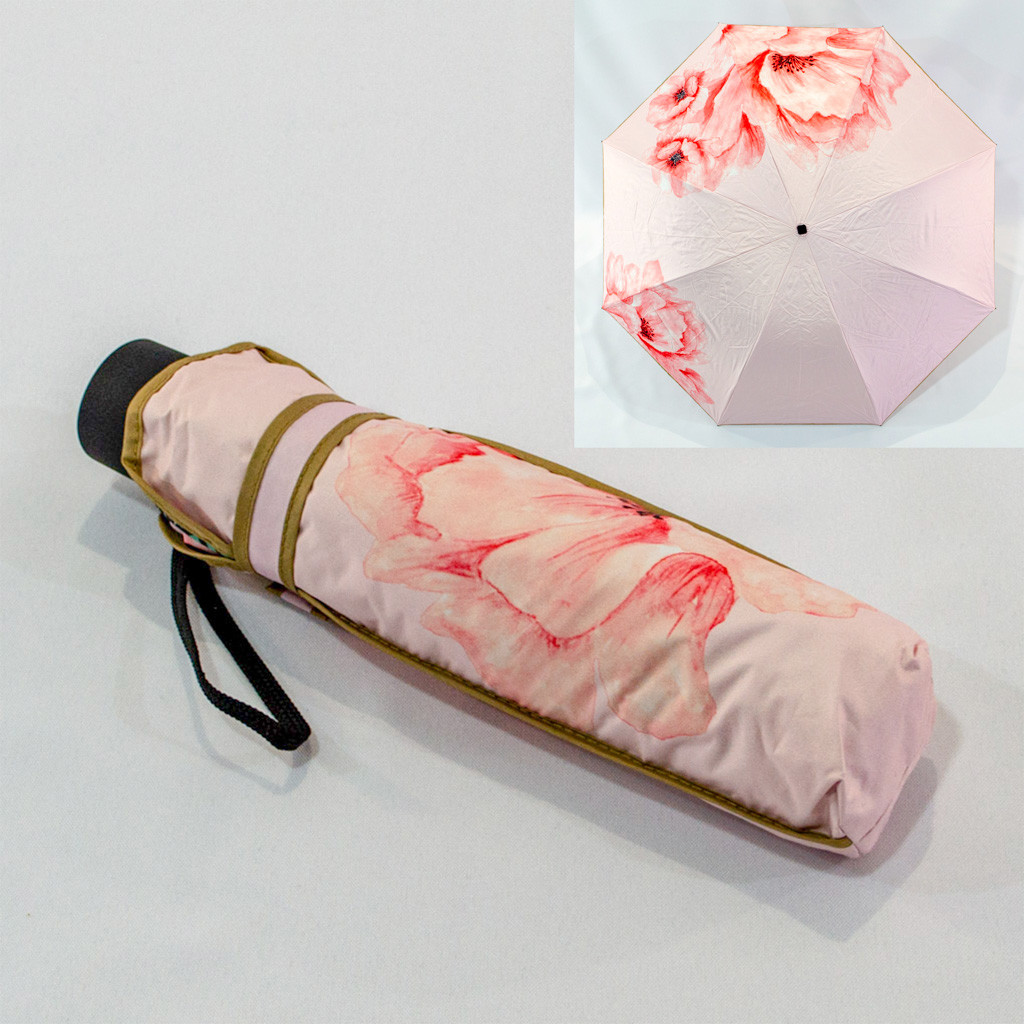 """Складной зонтик """"Ansu"""" 3003 механический с обратным сложение."""