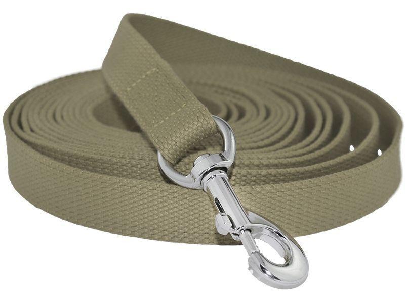 Поводок для собак брезент, зеленый, 20 мм/ 1,2 м, BE FORE