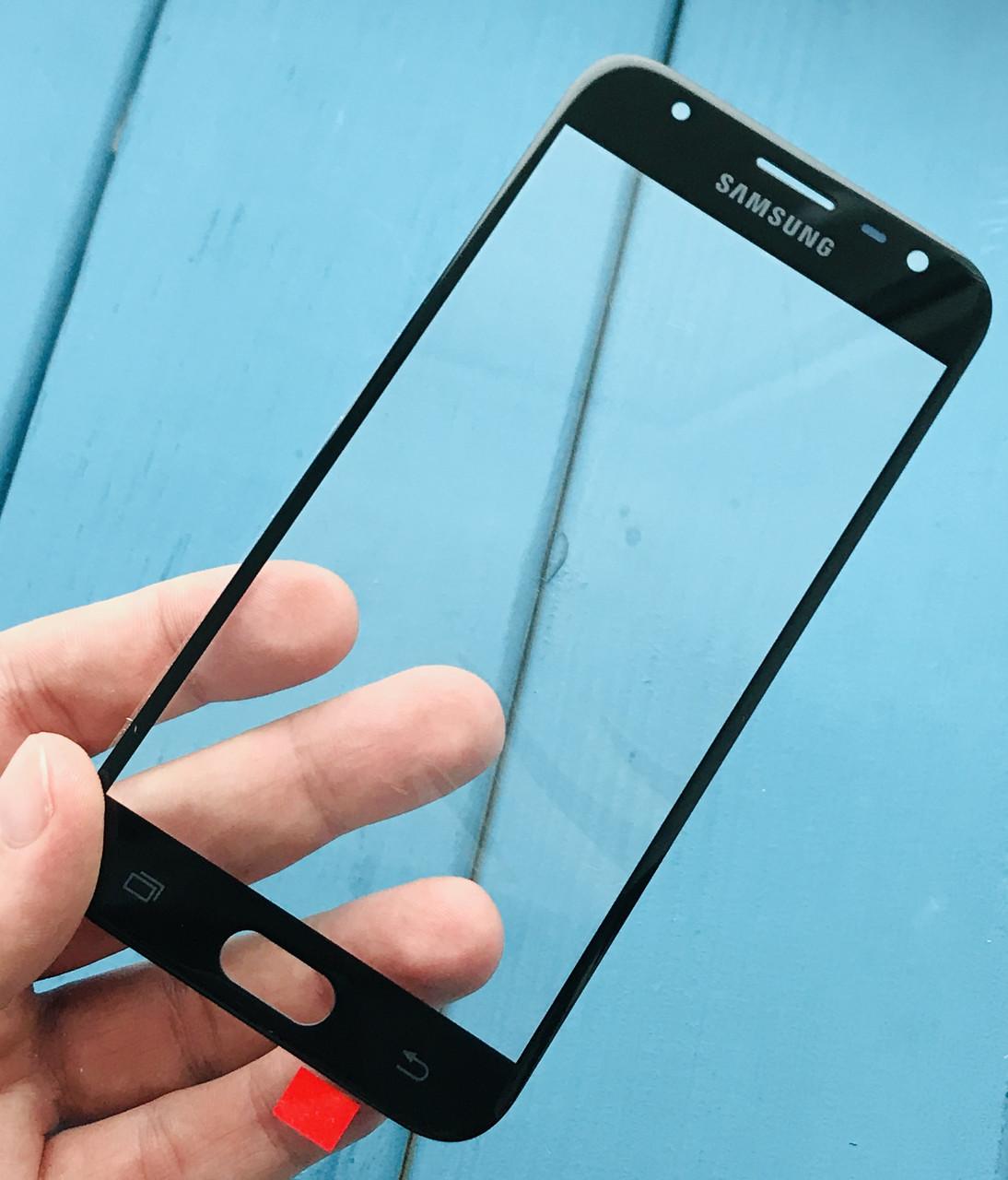 Стекло дисплея для Samsung J330 Galaxy J3 (2017) черное