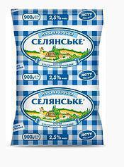 Доставка молока Селянське 0,9мл, 2,5%