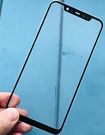 Стекло дисплея для Xiaomi Mi8 черное (оригинал Китай)