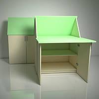 Домик трансформер стол-парта «ЗЮ-ЗЮ» Design Service Двухцвет (В*Ш*Г) 1050*800*500мм