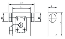 Вентилятор канальный прямоугольный для круглых каналов ВКП-К 200, фото 3