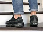Мужские кроссовки Nike 95 (черные) 9149, фото 3