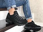 Мужские кроссовки Nike 95 (черные) 9149, фото 4
