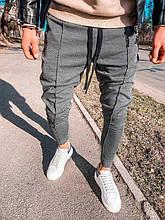 Мужские спортивные штаны (темно-серые) - Турция (5148)