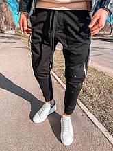 Мужские спортивные штаны (черные) - Турция (5152)