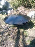 Сковорода из диска бороны Комплект без чехла (сковорода+крышка) 50 см.