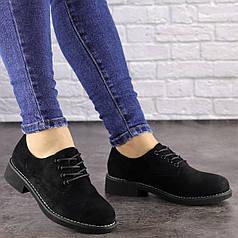 Женские туфли Oreo черные 1465