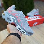 Женские кроссовки Nike TN Plus РЕФЛЕКТИВ (серые) 20025, фото 2