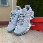 Жіночі кросівки Nike TN Plus РЕФЛЕКТИВ (сірі) 20025, фото 3