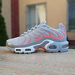 Женские кроссовки Nike TN Plus РЕФЛЕКТИВ (серые) 20025, фото 9