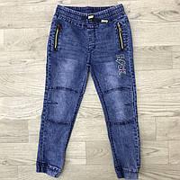 Веснянні сині джинси-джогери для хлопчиків-юніорів від 8-16років. Виробник Happy house Польща.