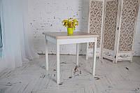 Стол обеденный раскладной Тавол Гранди  ноги прямое дерево 70 см х 80 см х 75 см Ясень, фото 1