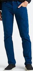 Вельветовые брюки Levis 511 - Squad Blue