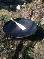 Сковорода из диска бороны Комплект без чехла (сковорода+крышка) 40 см.