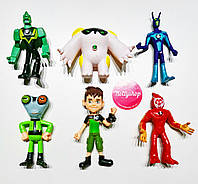 Игровой набор фигурок героев Ben 10 7-10 см #6