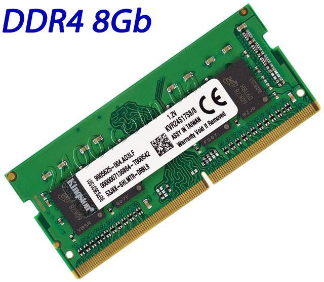оперативная память ddr4 8gb для ноутбука KVR24S17S8/8