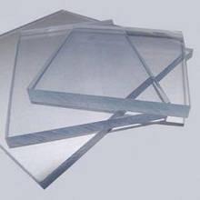 Акрил экструдированный, прозрачный, 4 мм, лист 3050х2050мм