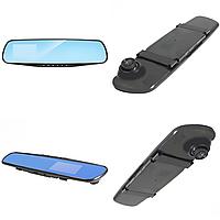 "Зеркало видеорегистратор с камерой заднего вида Lesko 2.8"" Car H5 Full HD"