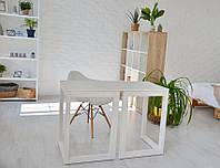 Стол Тавол Рахмен натуральное дерево 110смх55смх75см Белый, фото 1