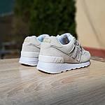 Жіночі замшеві кросівки New Balance 574 (бежеві) 20029, фото 3