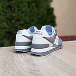 Женские замшевые кроссовки New Balance 574 РЕФЛЕКТИВ (серые) 20027, фото 2