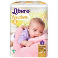 Подгузник Libero Newborn 2 (3-6 кг) 88 шт (7322540731477)