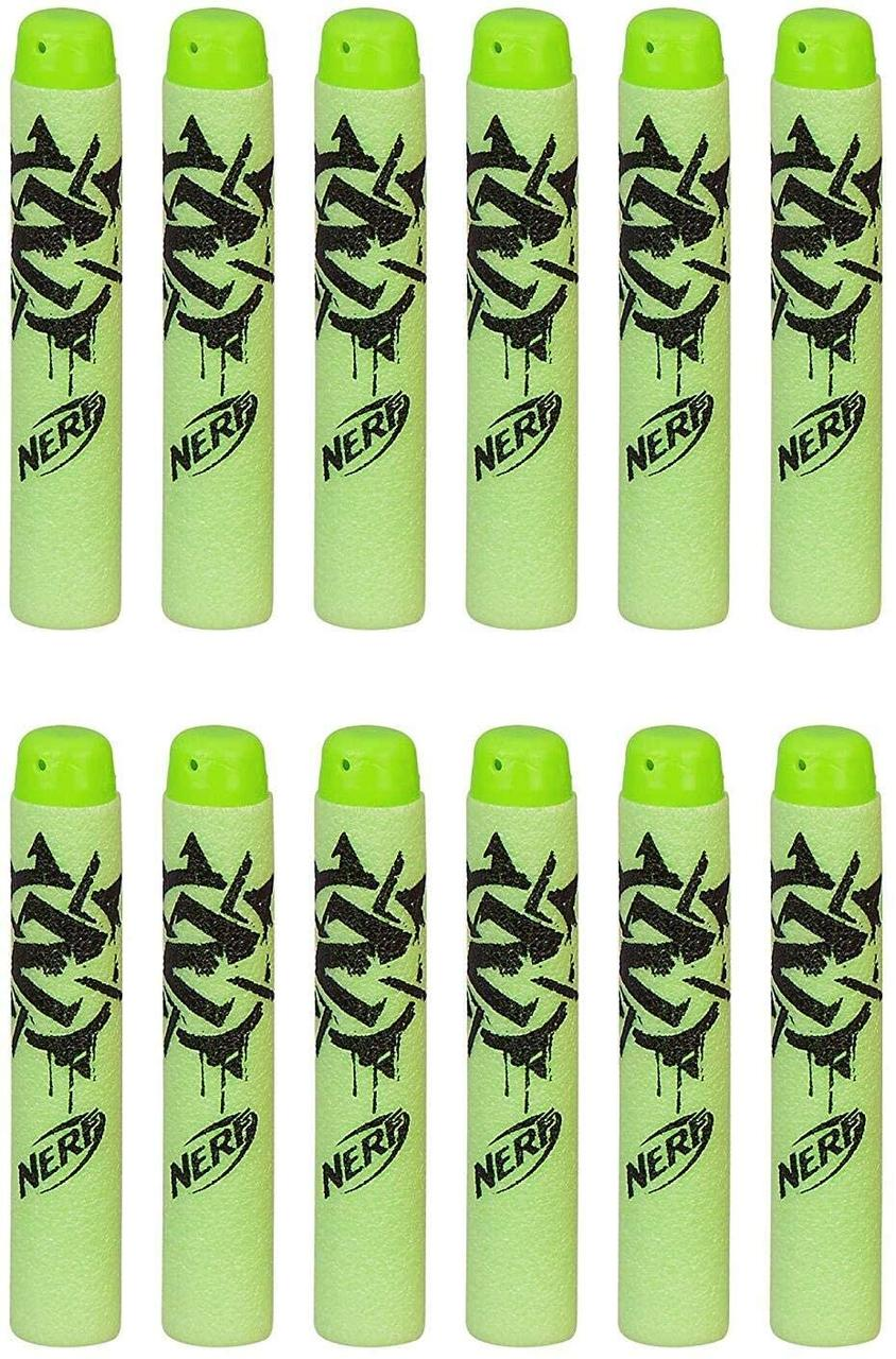 Набір куль для бластера Зомбі страйк NERF Zombie Strike Refill Pack 12штук