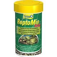 Корм для молодых черепах Tetra ReptoMin Baby в гранулах 100мл (140158)