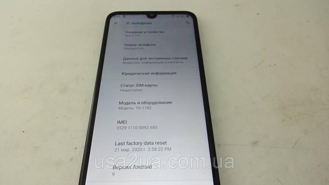 """6.3"""" Смартфон Nokia 3V Ta-1182 2019 Гарантия Кредит Доставка"""
