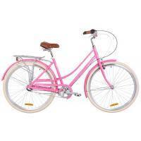 "Велосипед Дорожник 28"" SAPPHIRE PH рама-19"" 2019 сакура с багажником (OPS-D-28-137)"