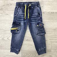 Веснянні дитячі джинси-ястреба для маленьких хлопчиків від 1-5років. Виробник Happy house Польща.
