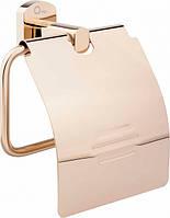 Держатель для туалетной бумаги Q-tap Liberty ORO 1151 Золотистый 5224, КОД: 1499243