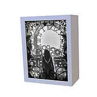 3D Lightbox-ночник Vesper Машина времени 202, КОД: 1473753