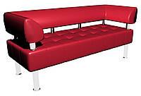 Диван-офис Тонус Sentenzo 1600x600x700 мм Красный 236782022, КОД: 1556492