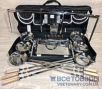 Набор шампуров и аксессуаров (подарочный набор из 28 предметов), фото 1