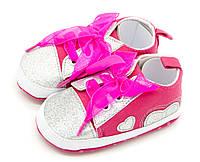 Пинетки-кроссовки Kimbo 12 см Темно-розовый Y5 d-pink 12 см, КОД: 1524963